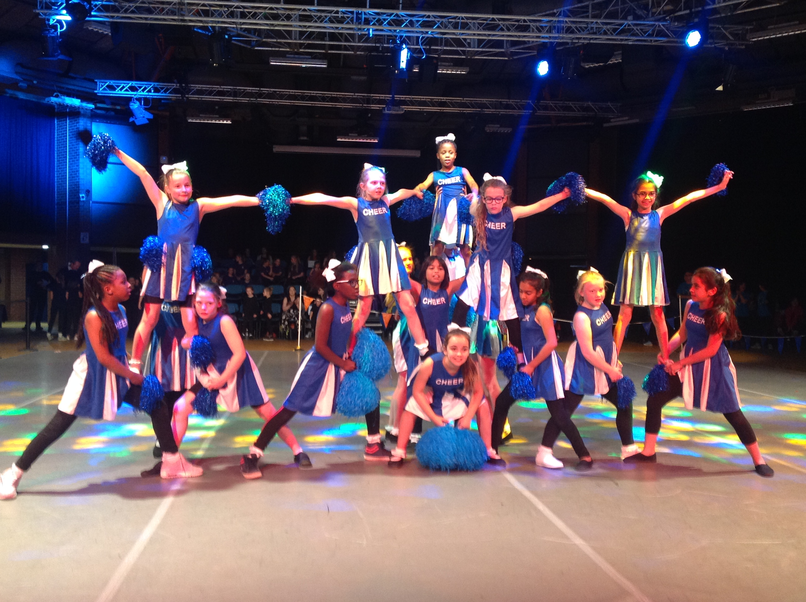 Over 600 pupils perform at Arches Dance Performance Legends & Divas!