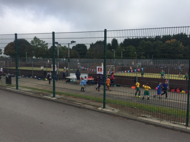Over 350 pupils take part in Arches 5-a-side football!
