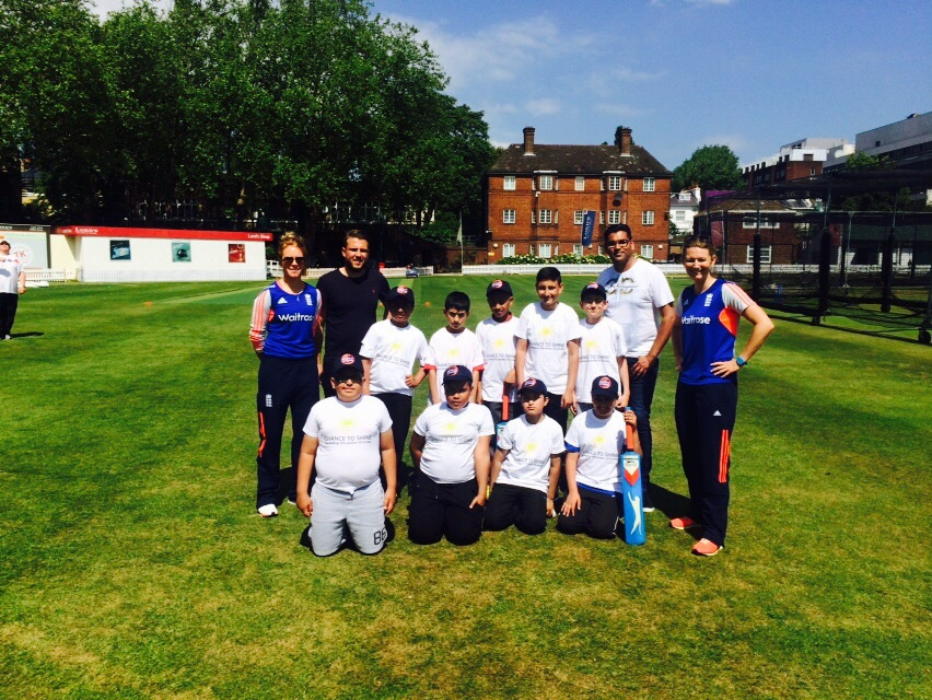 Hucklow are bowled over at Lords Cricket Ground