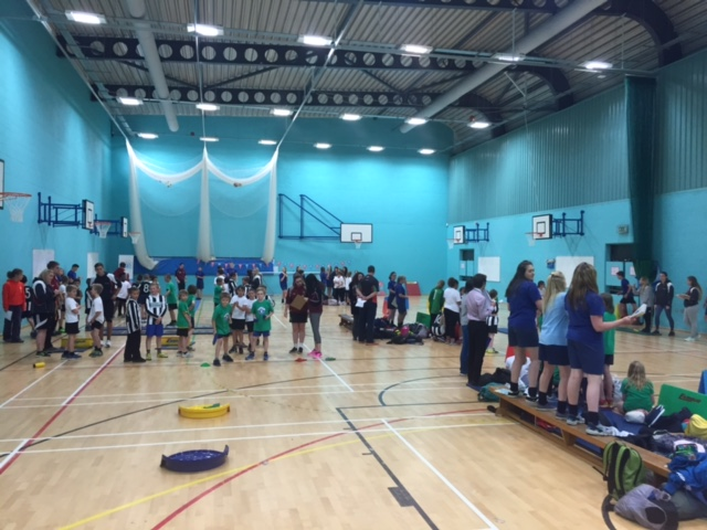Sports Hall Athletics Season is well underway!