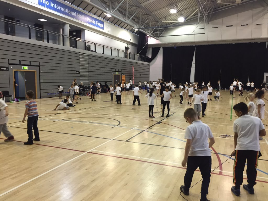 Sheffield Schools Jumping for Joy in Skipping Project