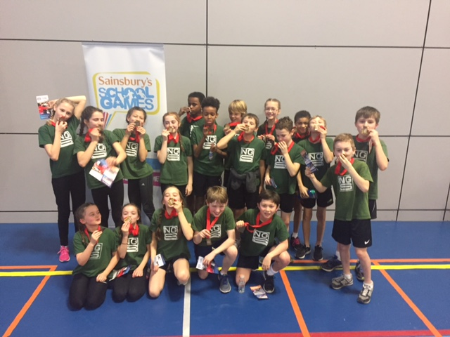 Sports Hall Athletics Finals showcase Sheffield's Talent