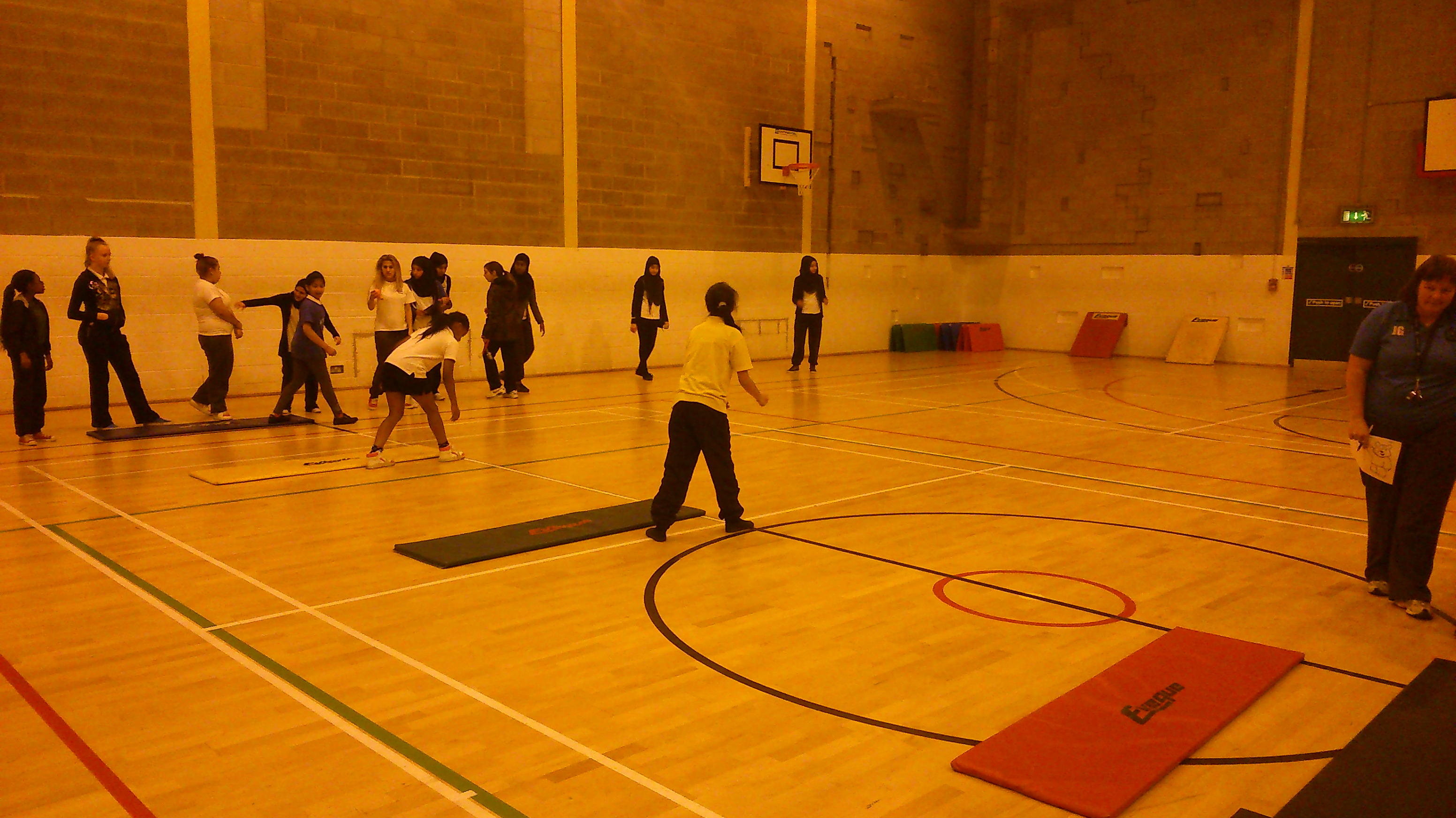 The Arches School Sports in Fir Vale Cluster