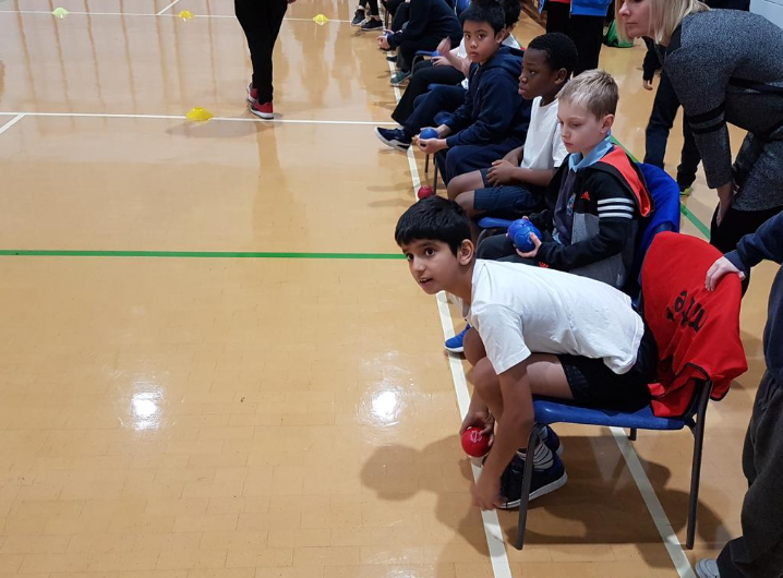 Boccia Event is a success for SEND Pupils