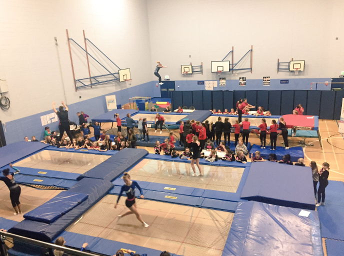 Olympic Fever hits the Sheffield Trampoline Competition