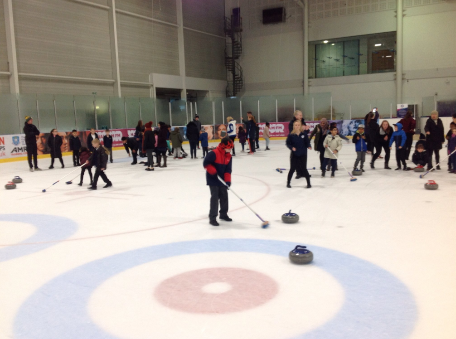 Curling Champions- St Mary's Catholic Primary