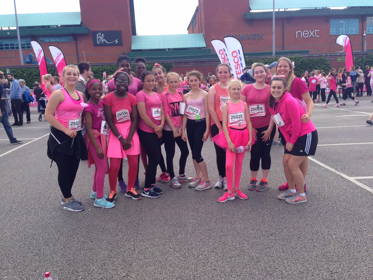 Arches Race 4 Life Project 2016